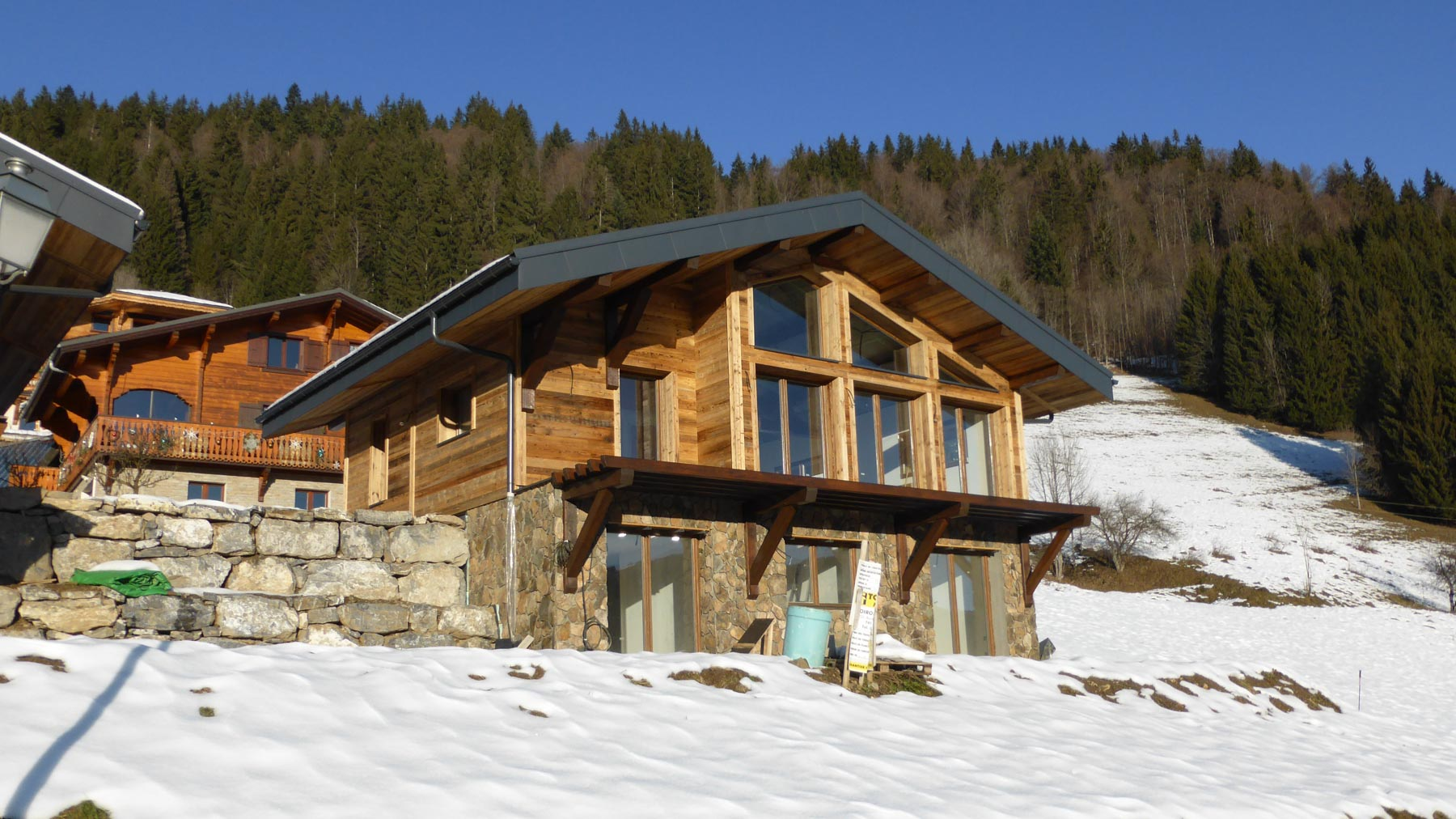 Cote MH New Chalet Exterior
