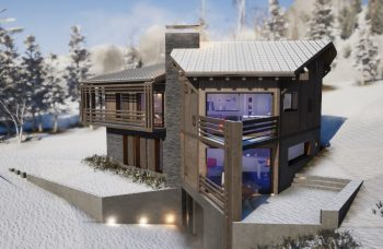LG land 765 Chalet build