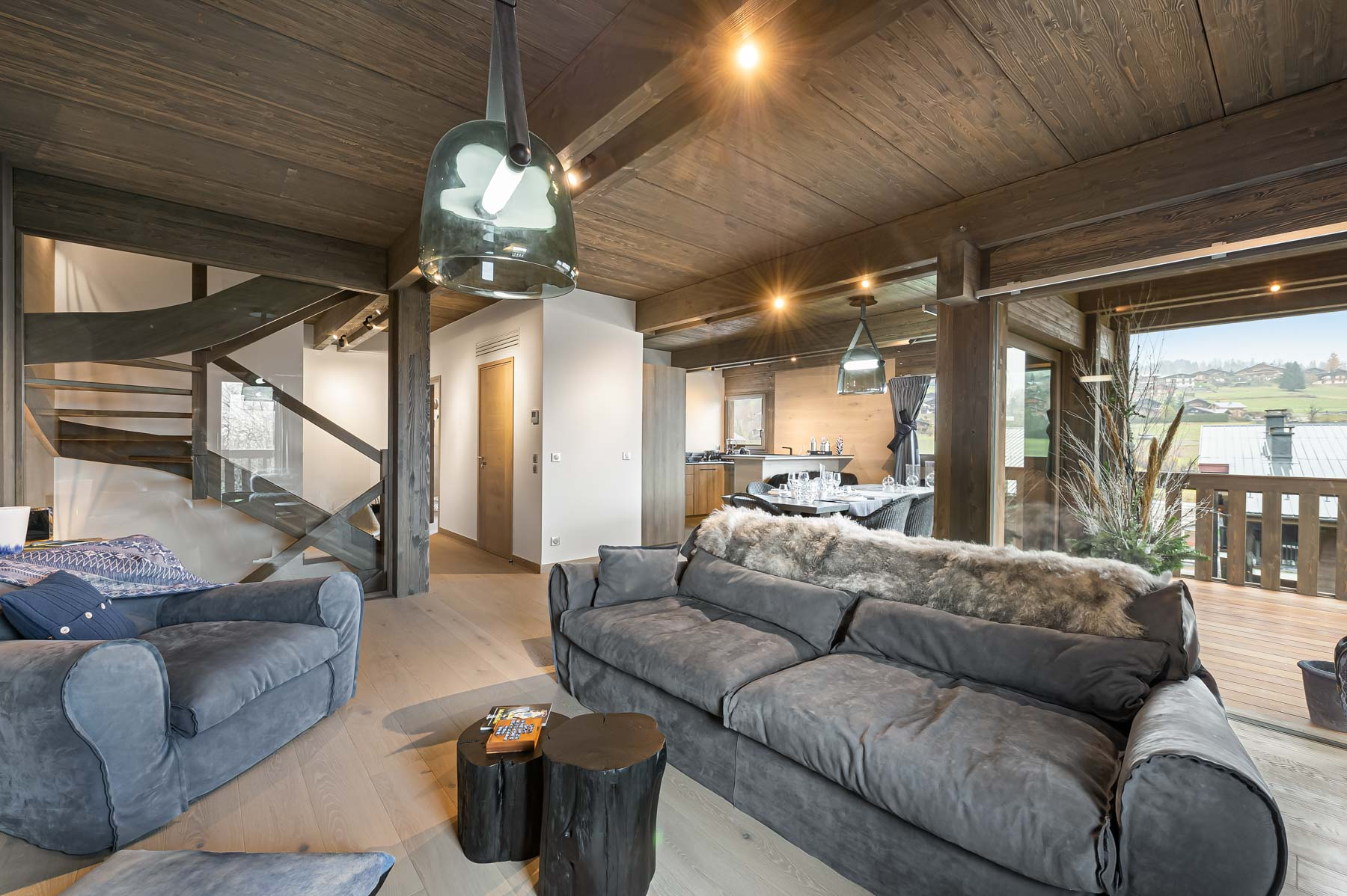 Bettex Chalet Example Living Room