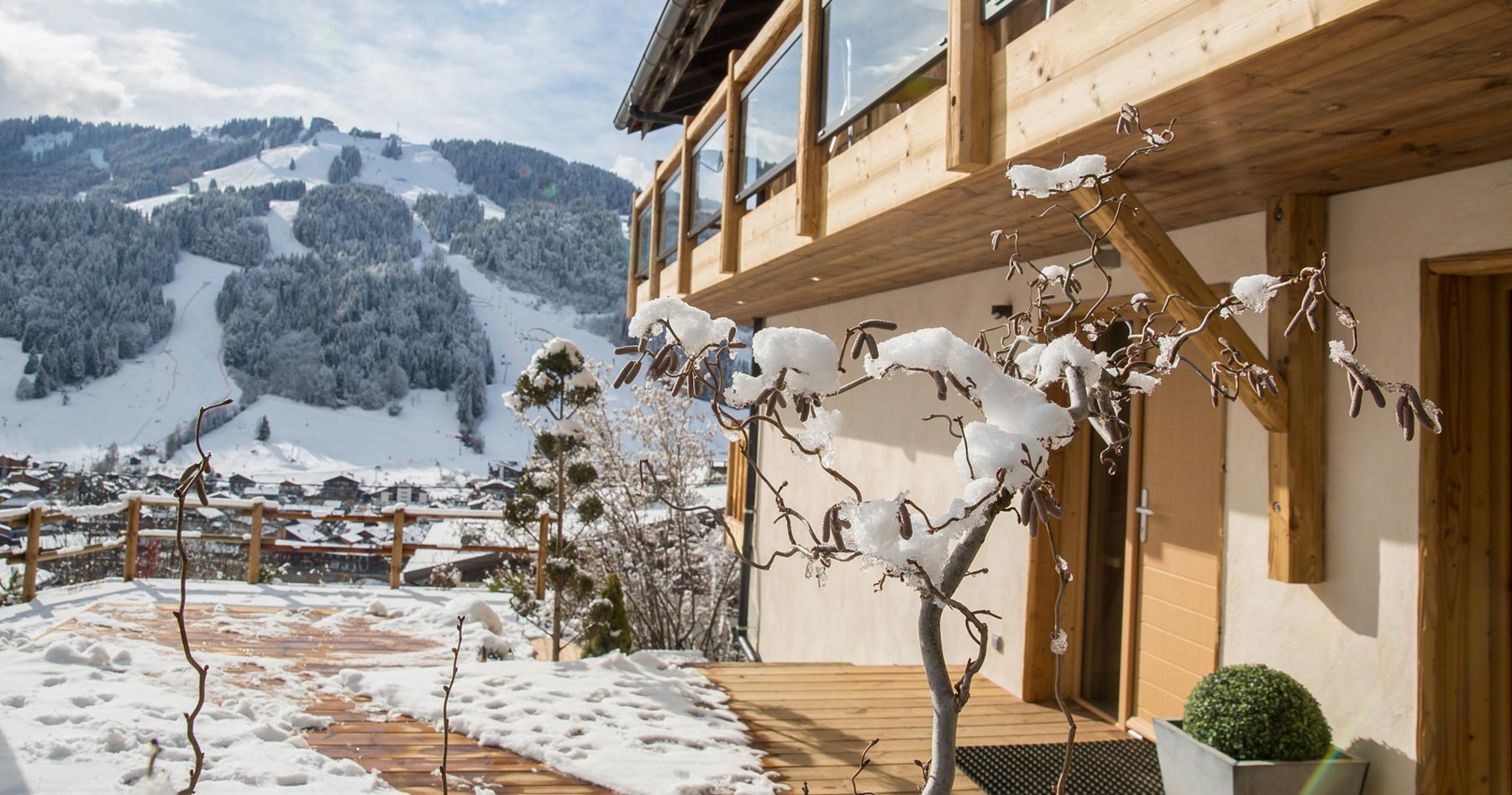 Chalet-perdrix-snow-view