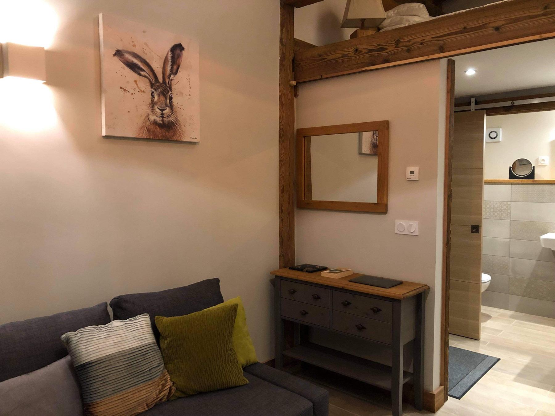 Perdrix Mazot Living Area