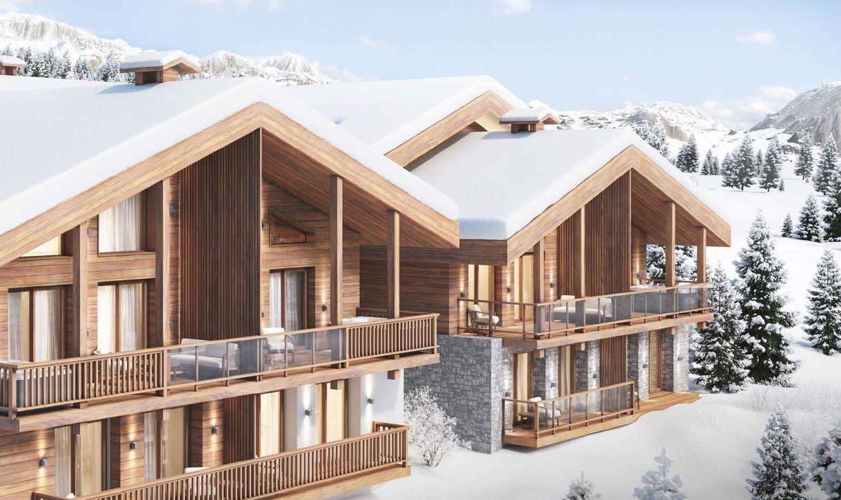 Kamet New Build Chalets in winter
