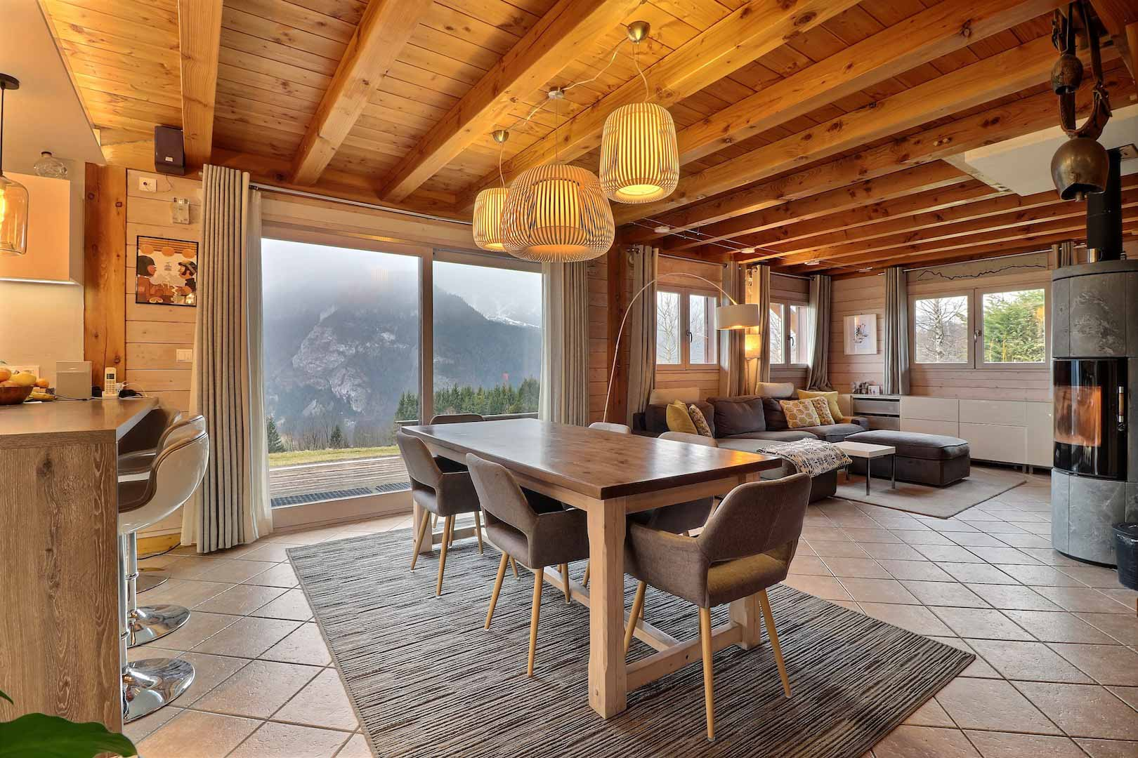 Chalet Alania Dining Room