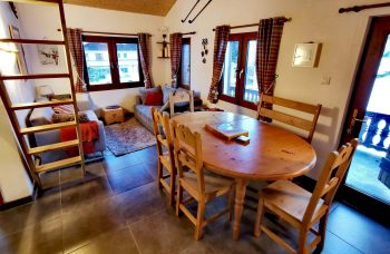 Cosy Chalet 1362 Dining Room