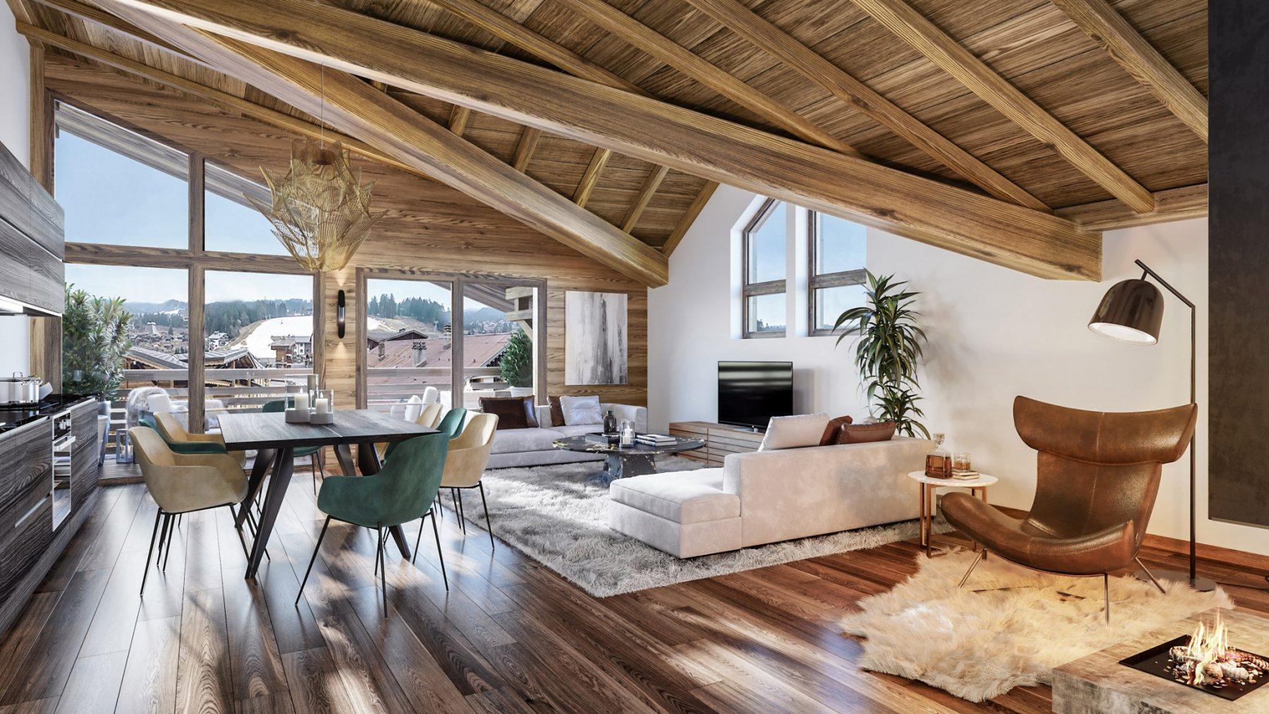 Chalet Confidentiel Example Lounge