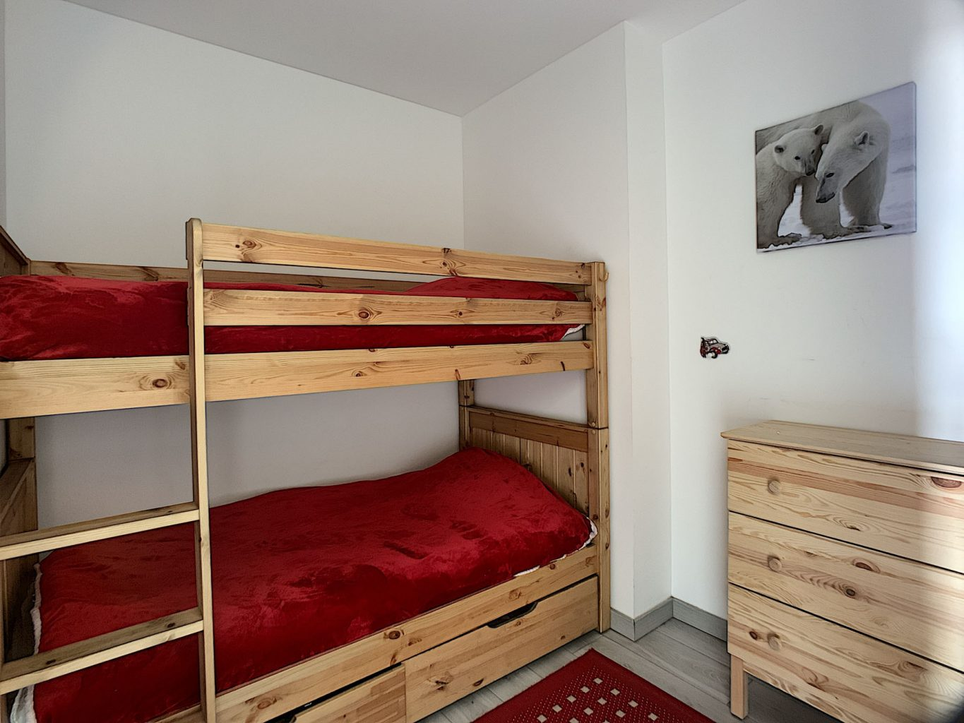 Morzine PDLP Appt 1050 Bunk Room
