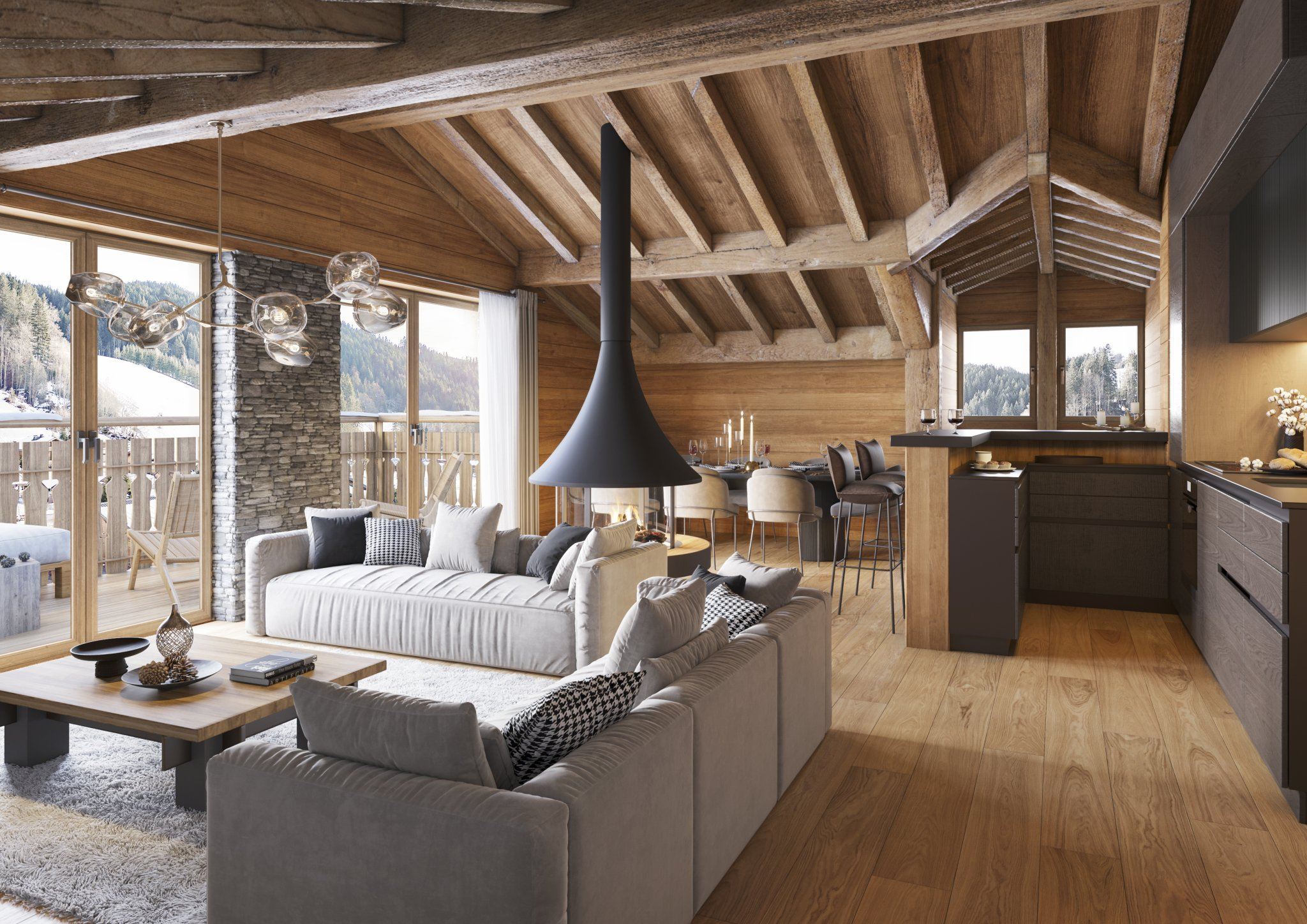 Cottage Alpin Example Lounge