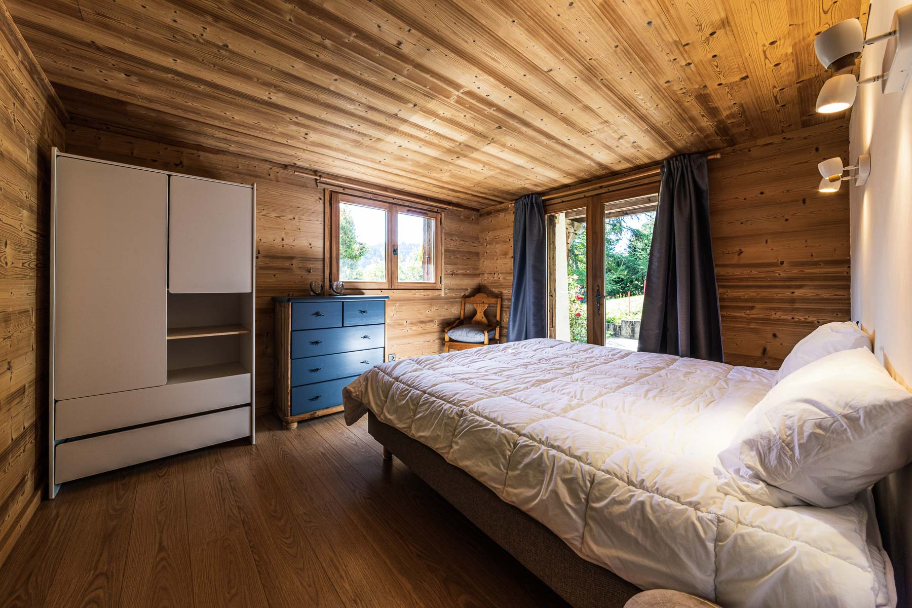 Chalet Leonie Double Bedroom