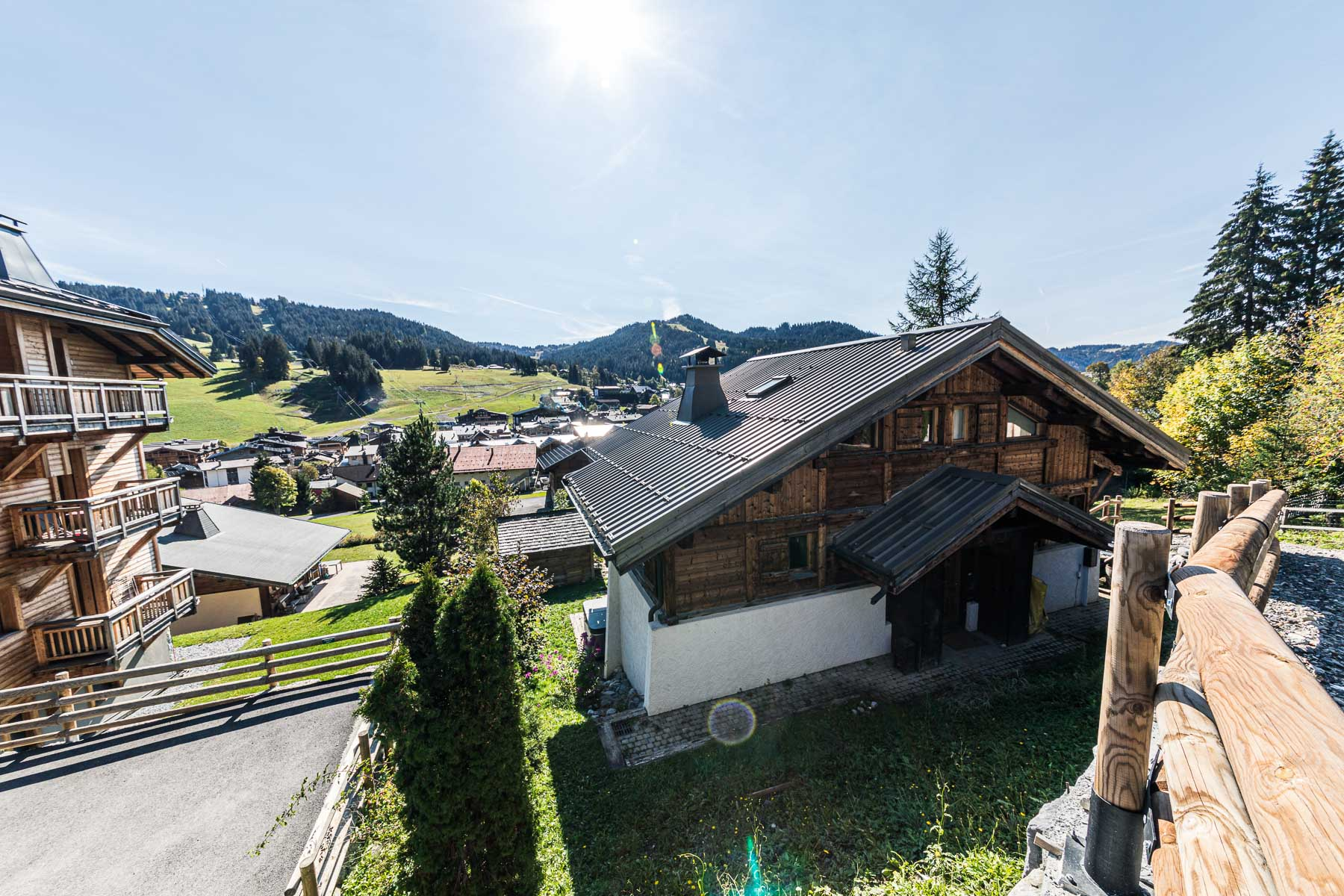 Chalet Leonie Elevated View