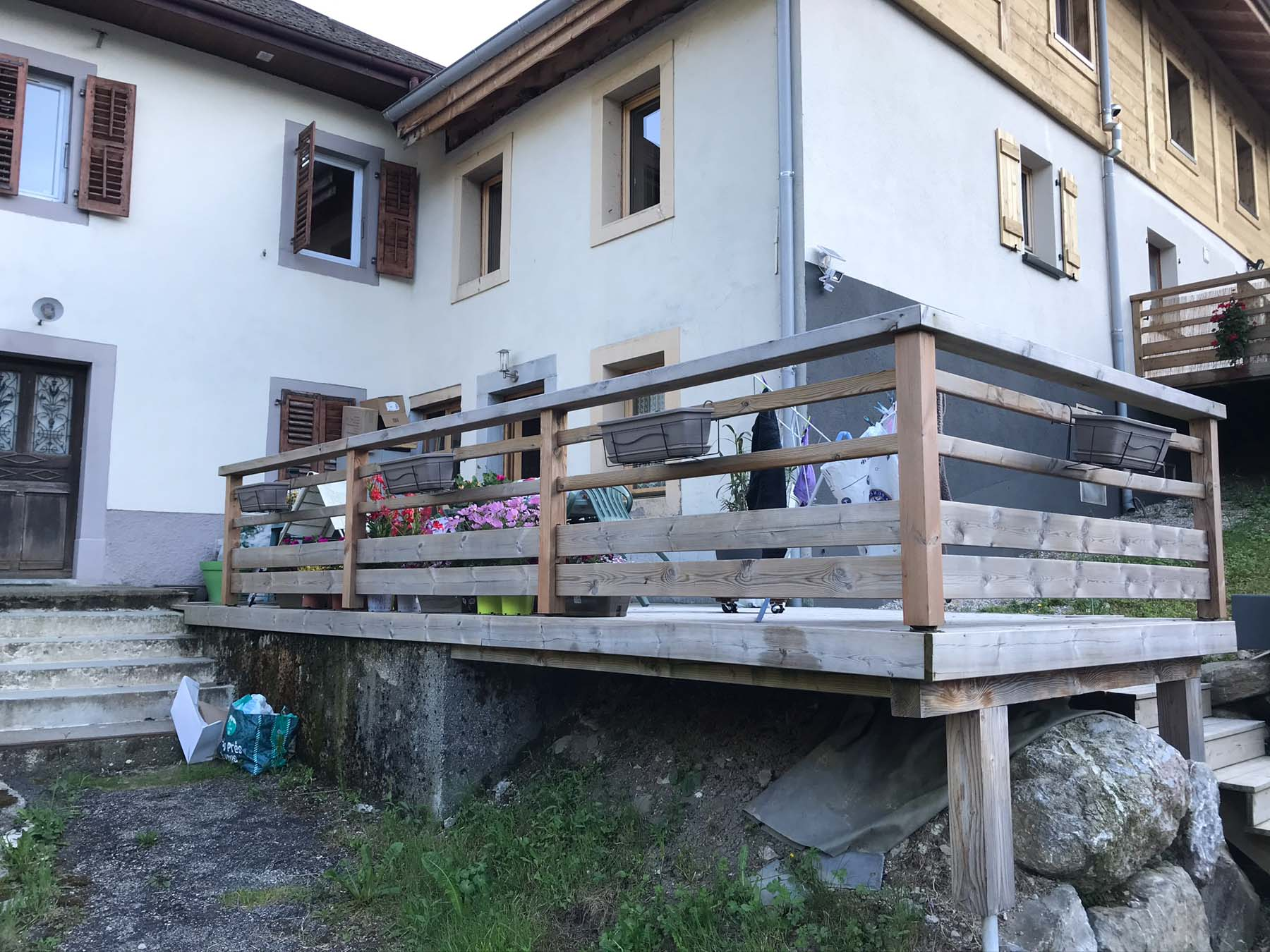 Moussiere Chalet 1115 Decking