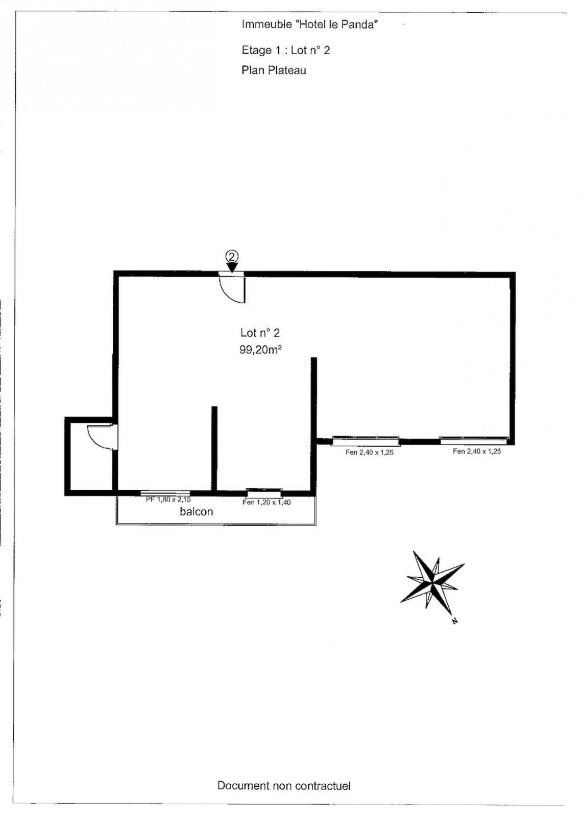 La Panda Floor Plan 2 Blank