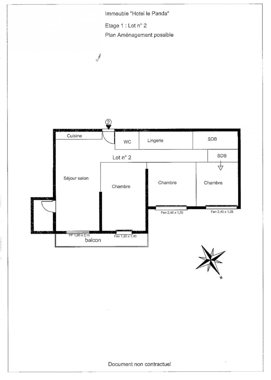 La Panda 2 Floor Plan