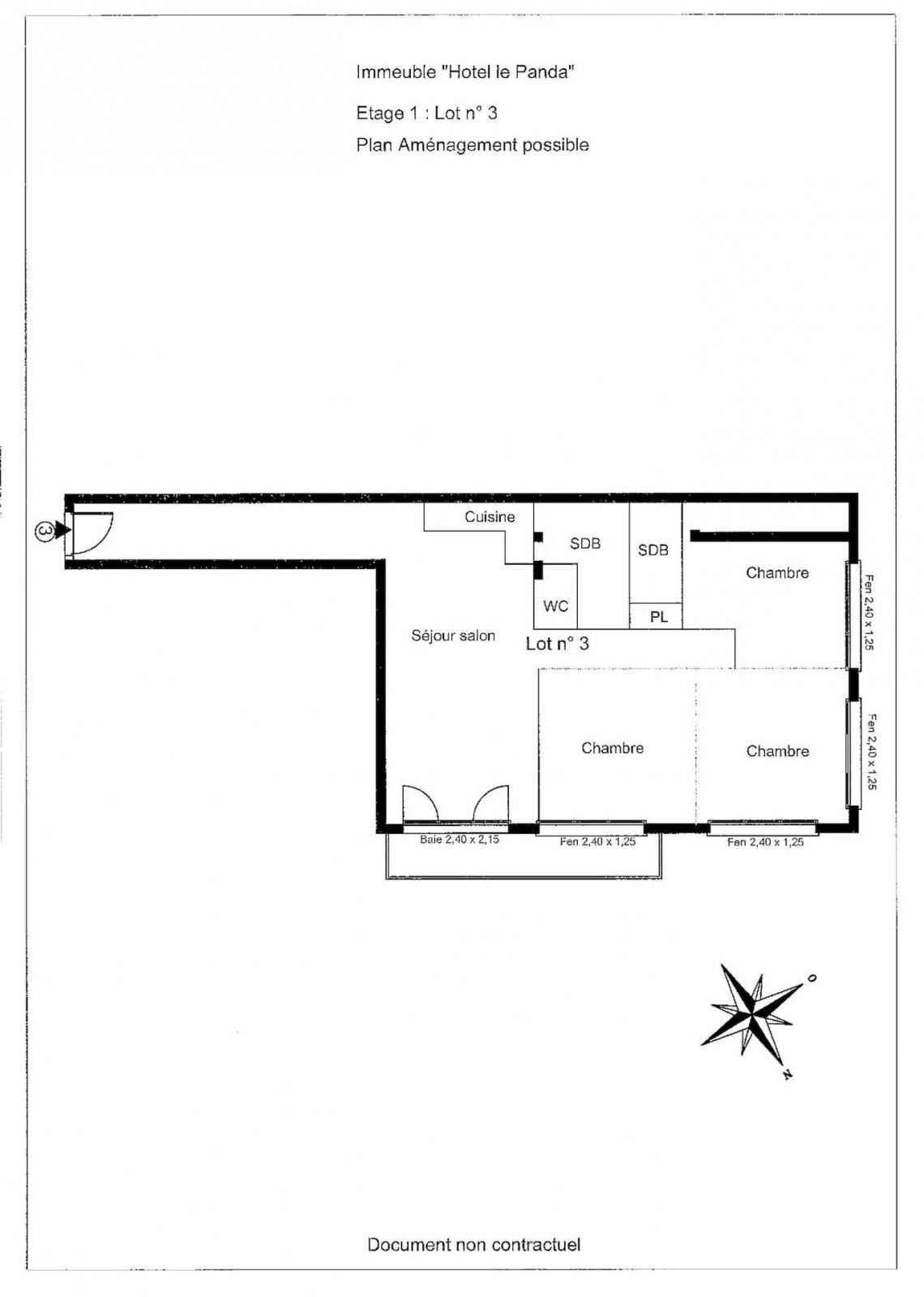La Panda 3 Floor Plan