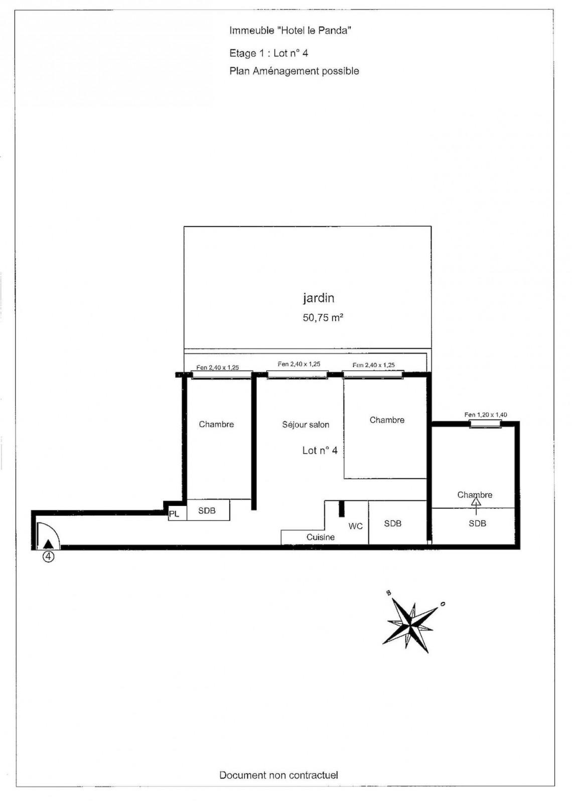 La Panda 4 Floor Plan