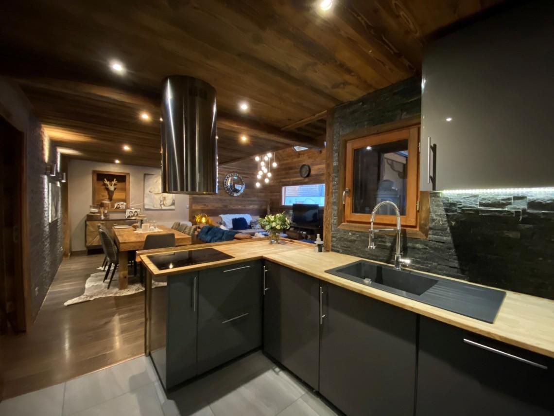Martinets Duplex Appt Dunc Open Plan Kitchen