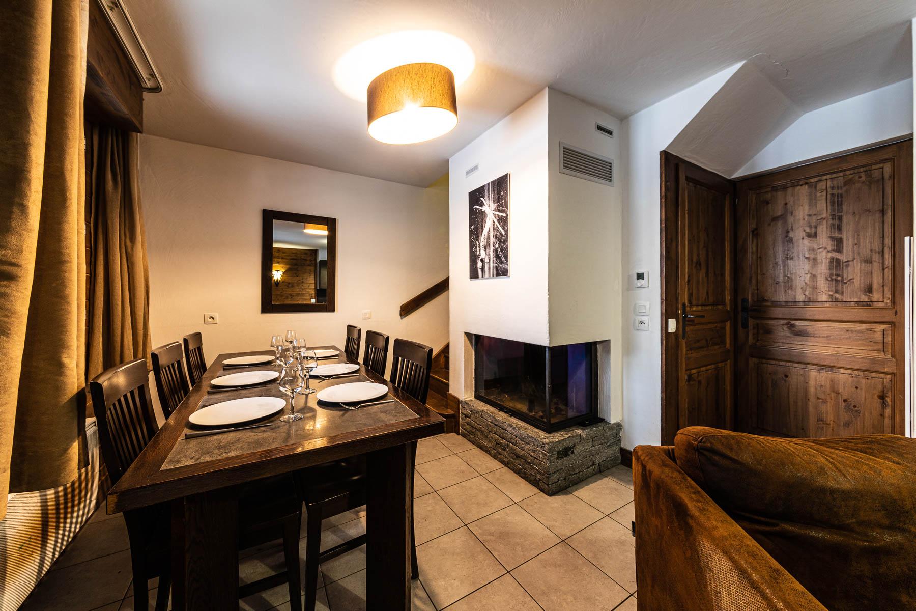 Ferme Emiguy Chalet 6 Fireplace