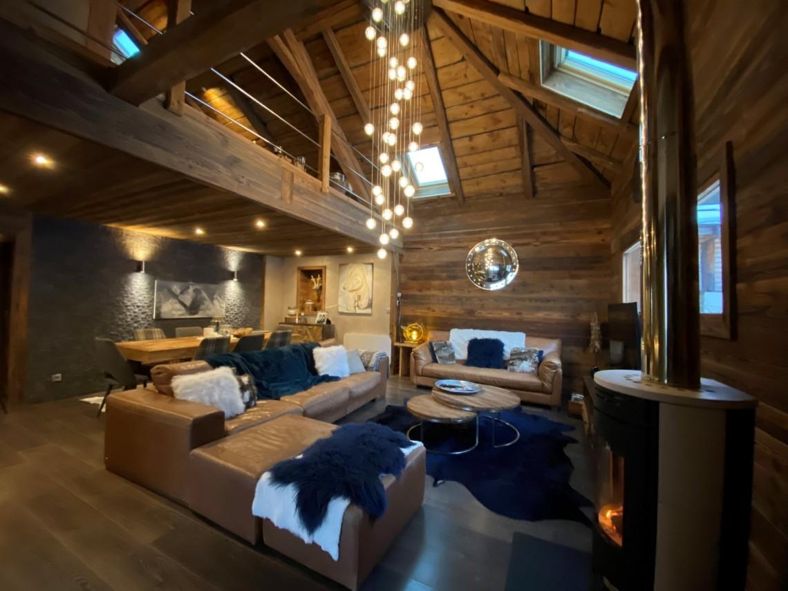 Martinets Duplex Appt Dunc Living Area
