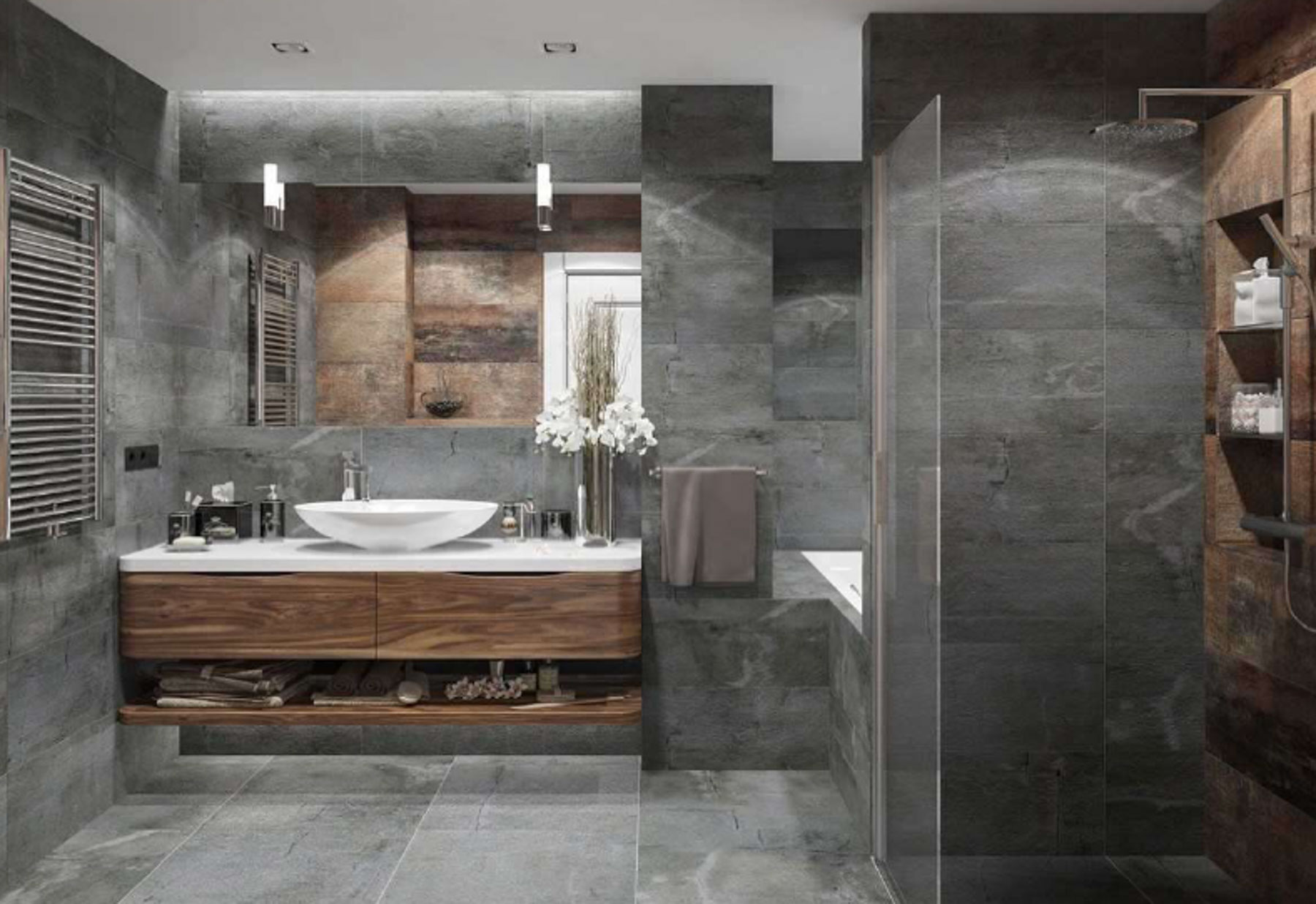Nant Residence Example Bathroom