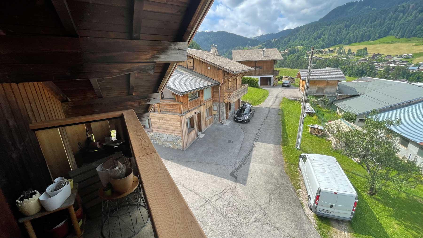 Putheys Duplex Balcony View