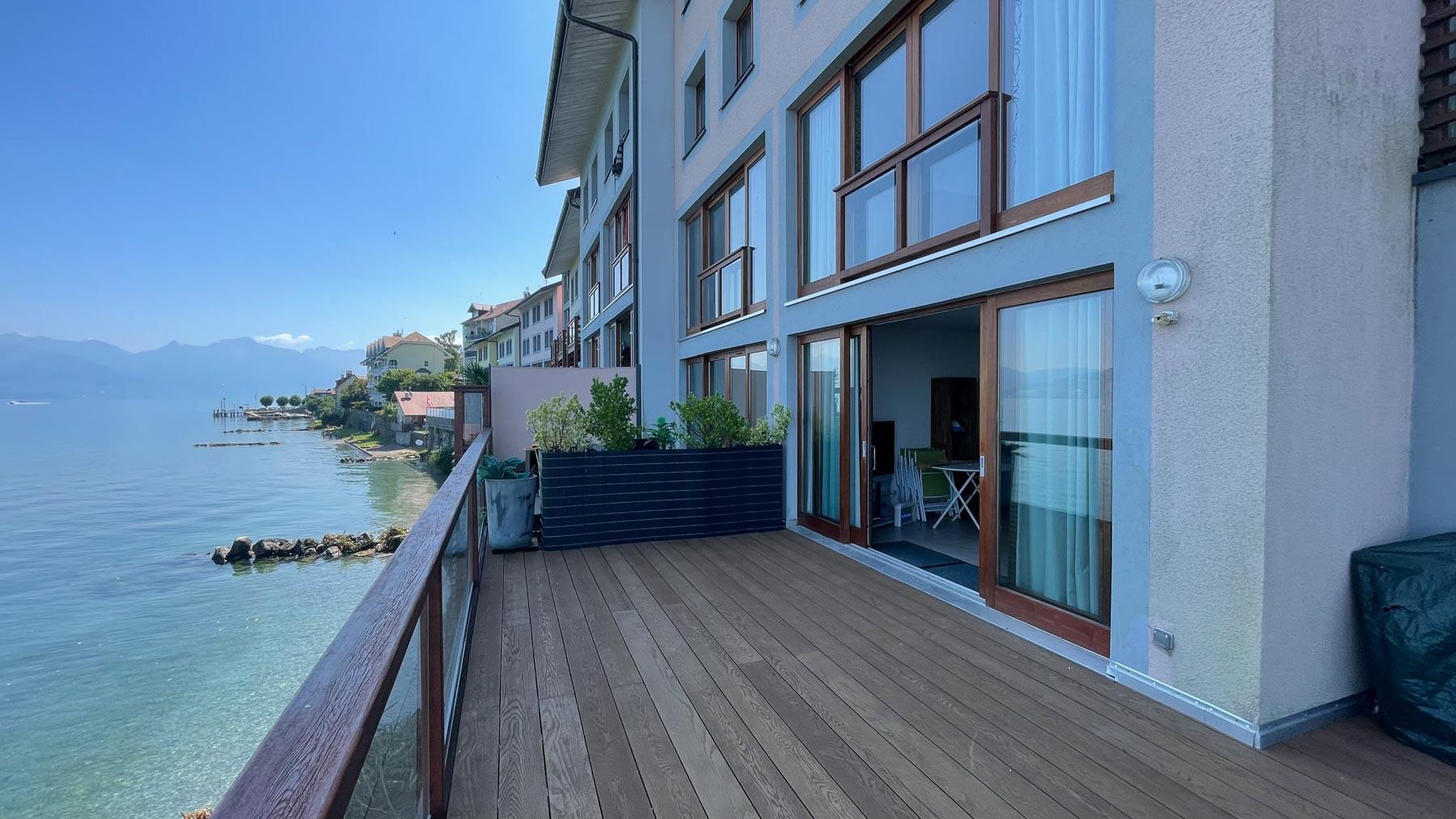 Pavillions 1 Decked Terrace