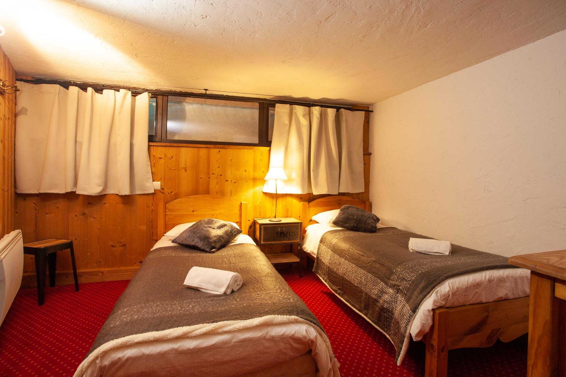 Avoriaz Appt 1954 Twin Bedroom