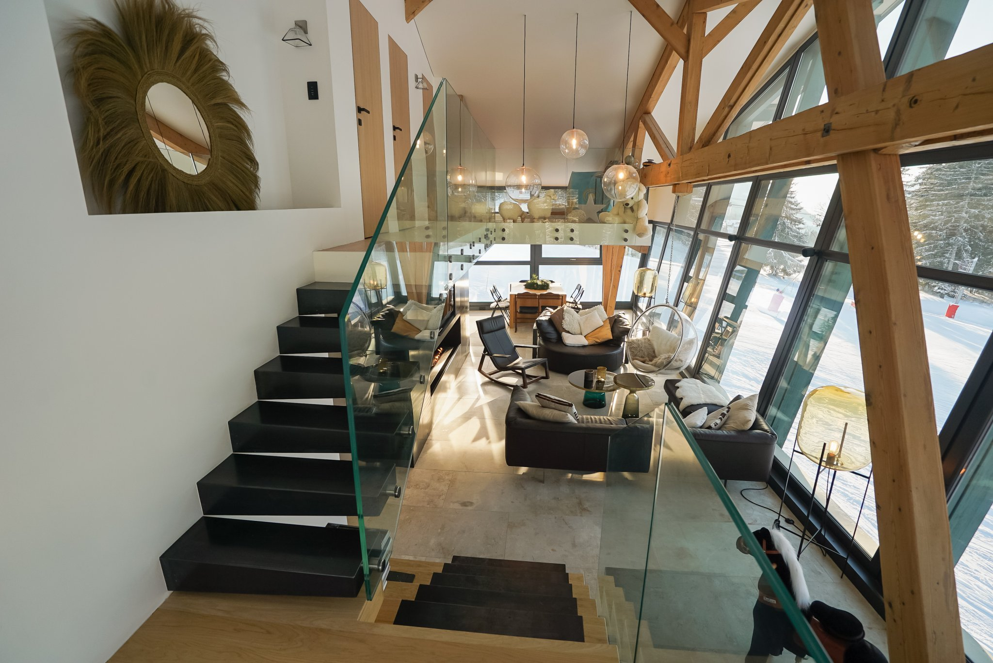 Grizzly Duplex Living Area