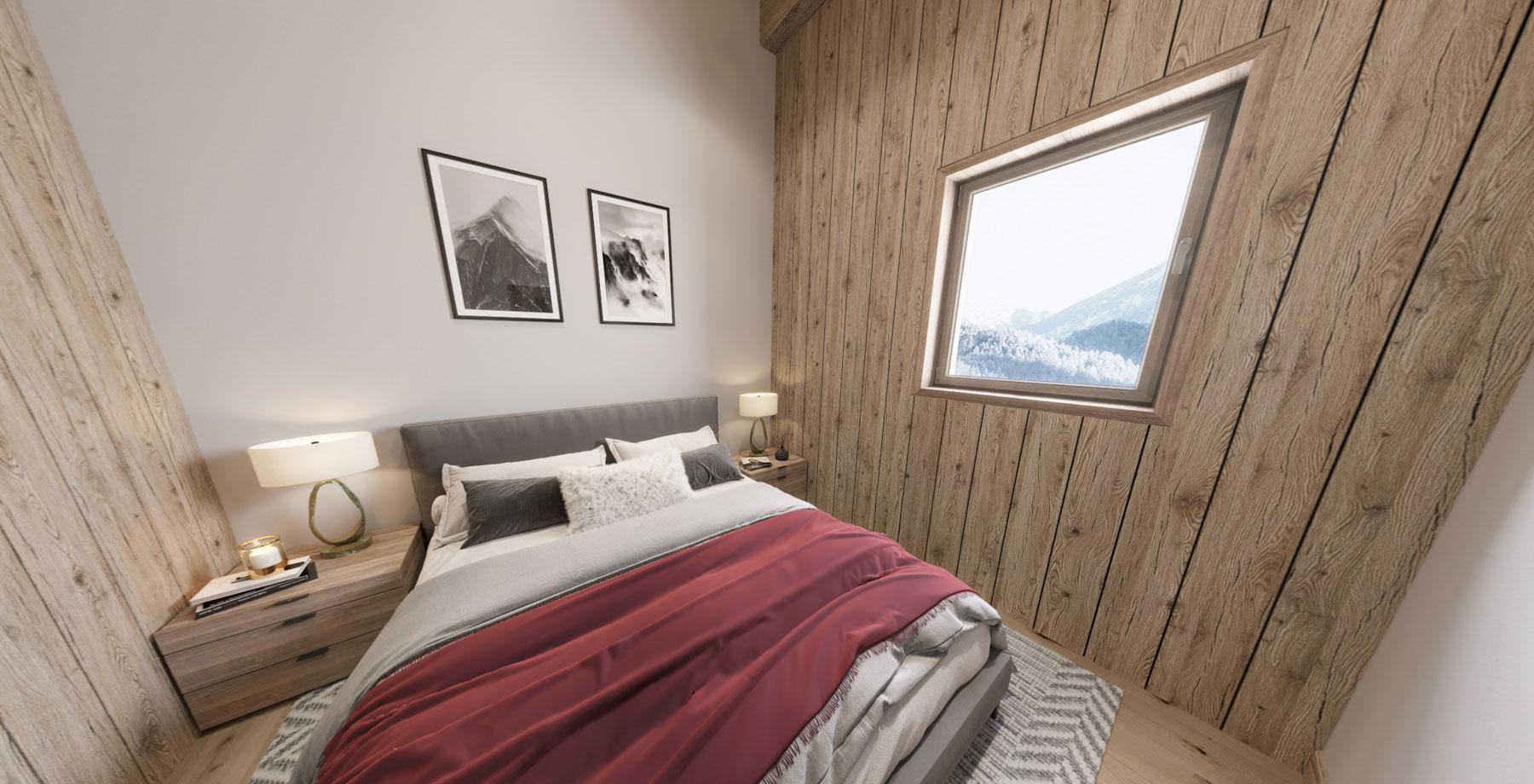 Gite Blanc Example Bedroom