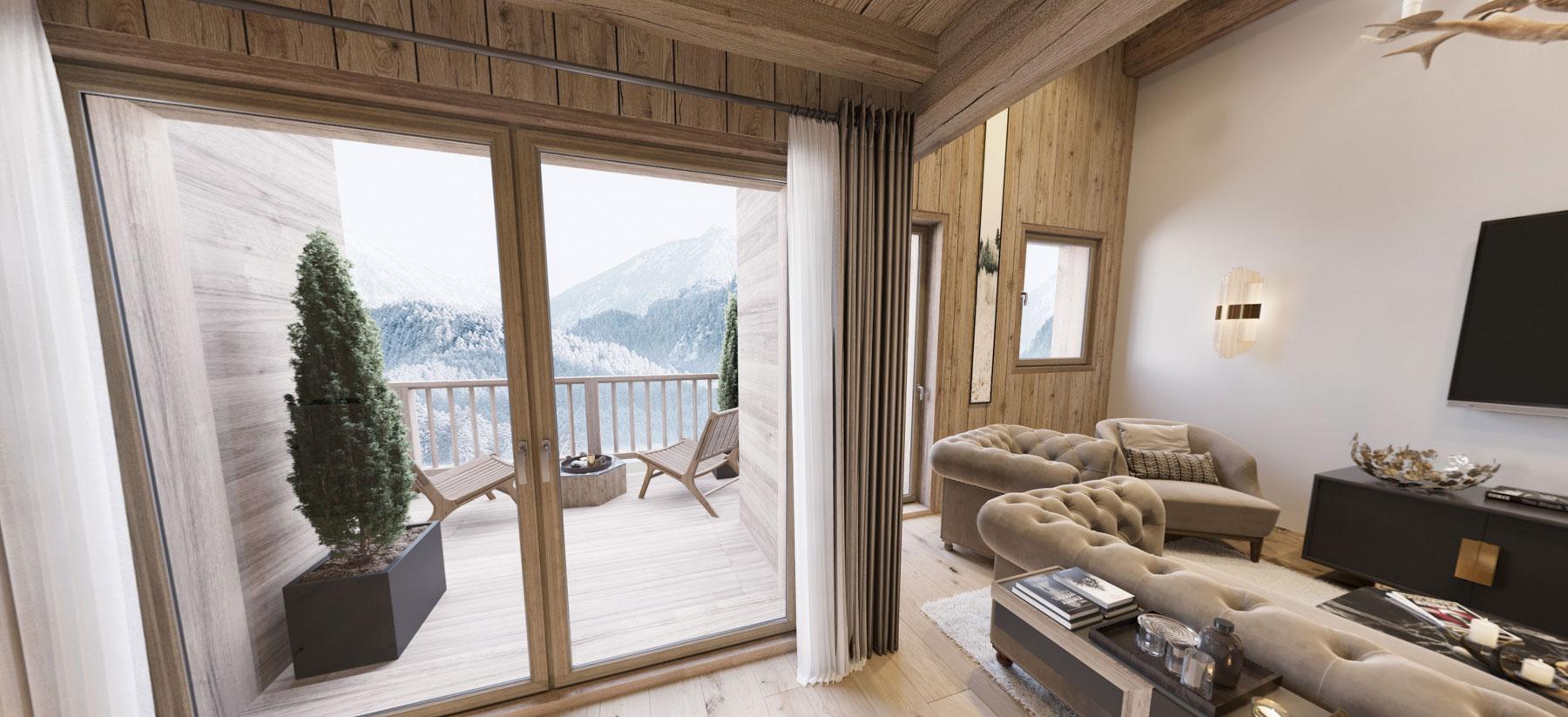 Gite Blanc Example Lounge