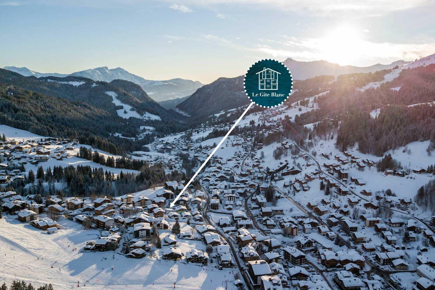 Gite Blanc Proximity to skiing