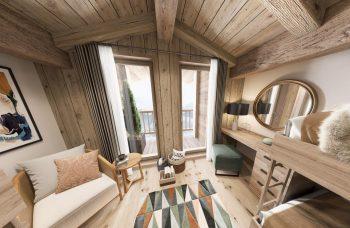 Gite Blanc Example Living Area