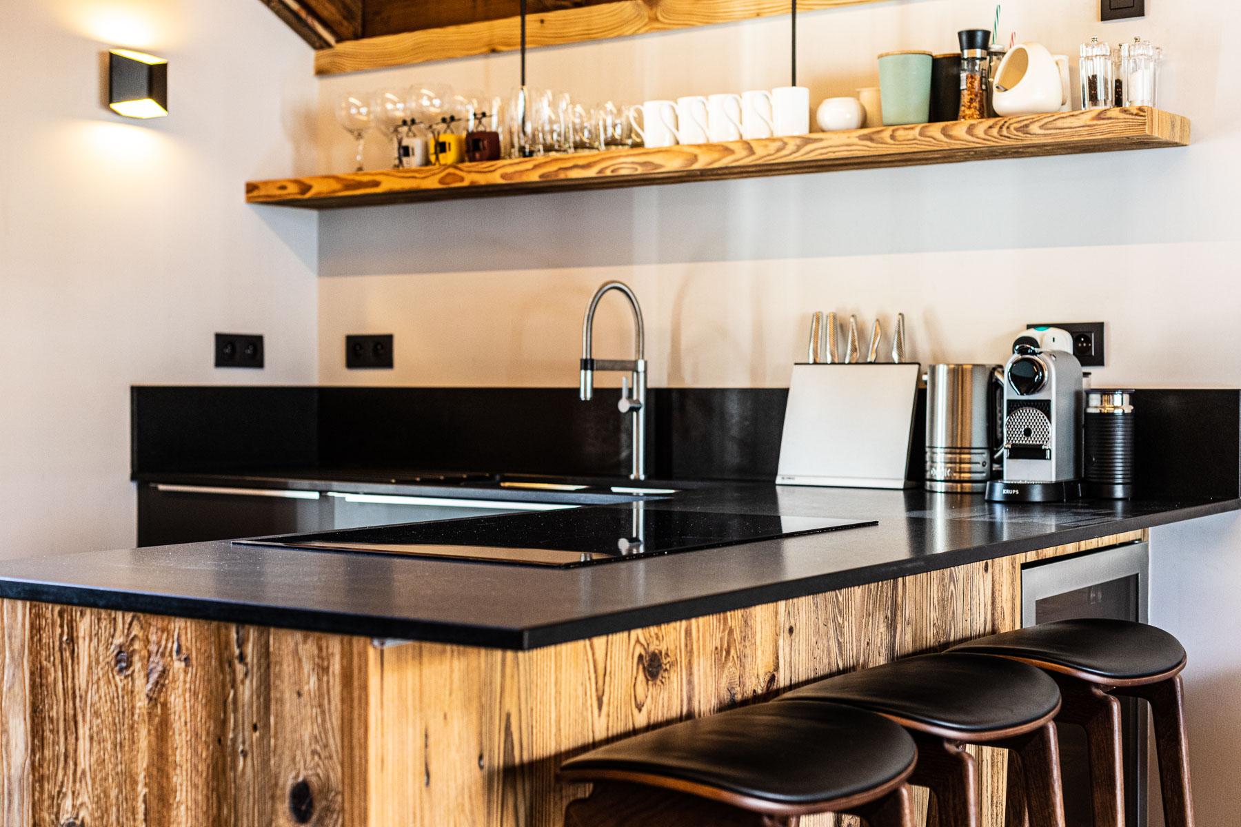 KTerra Kitchen area