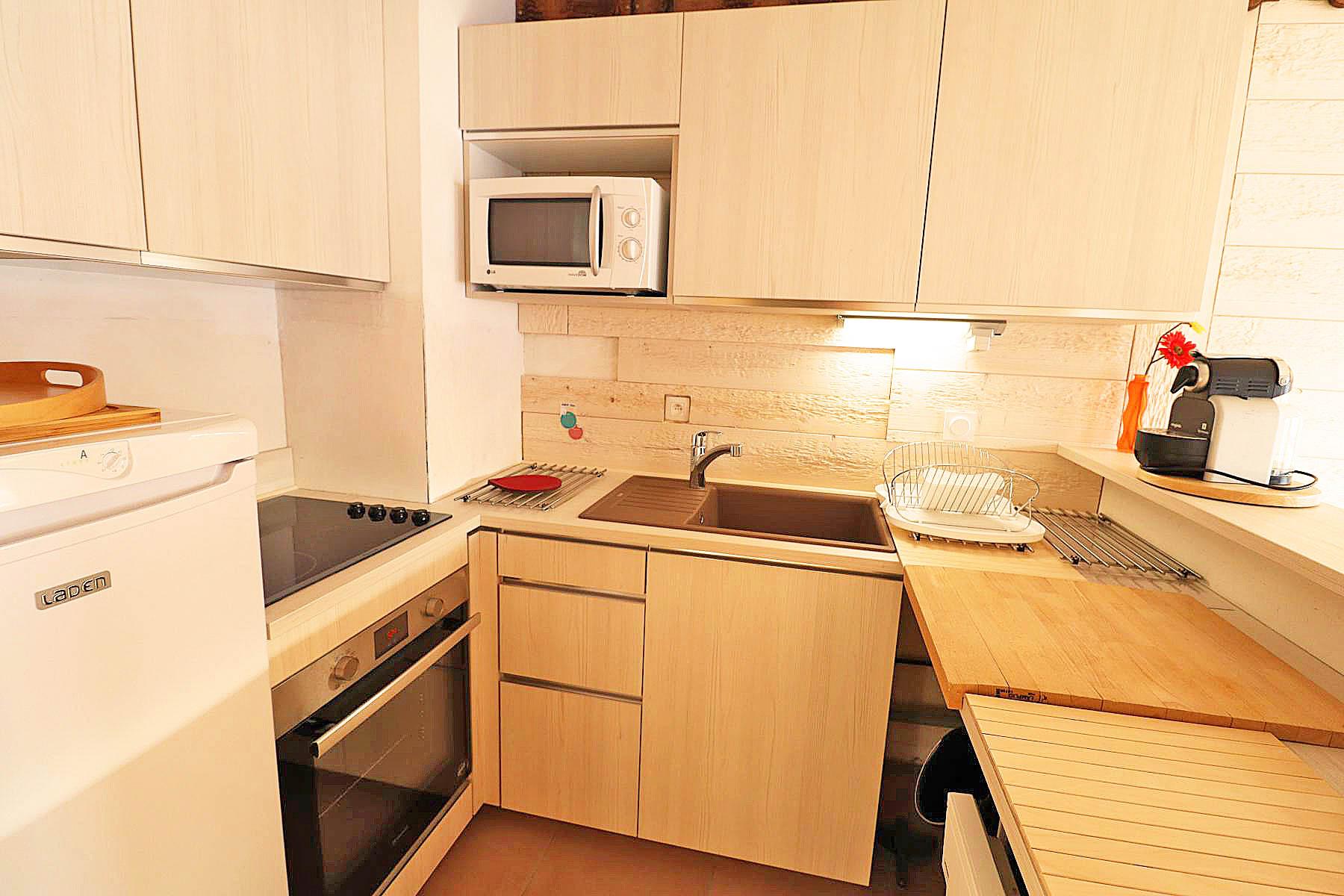 Studio appt 822 Kitchen